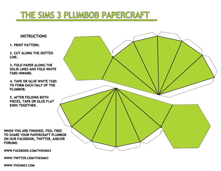 papercraftplumbob_green