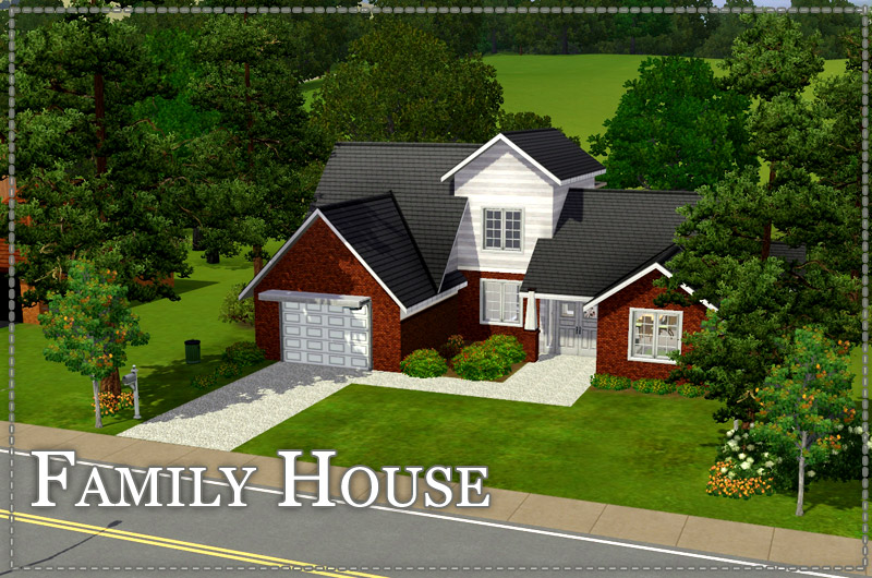 sims3cri lots bko res FamilyHome 01  Require The Sims 3. Sims 3 Cri     The Sims 3 game fansite   Residential Lots