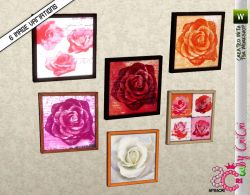 sims3cri_obj_cri_decor_painting_roses